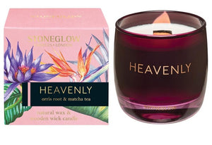 Stoneglow Infusions Heavenly - Orris Root & Matcha Tea Candle