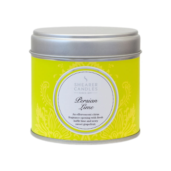 Shearer Persian Lime Large Tin Candle