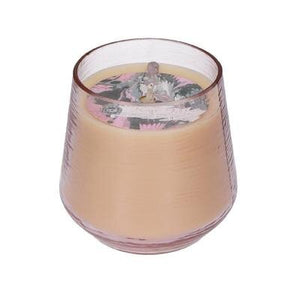 Sweet Grace- 029 Pink-Hued Glass Candle