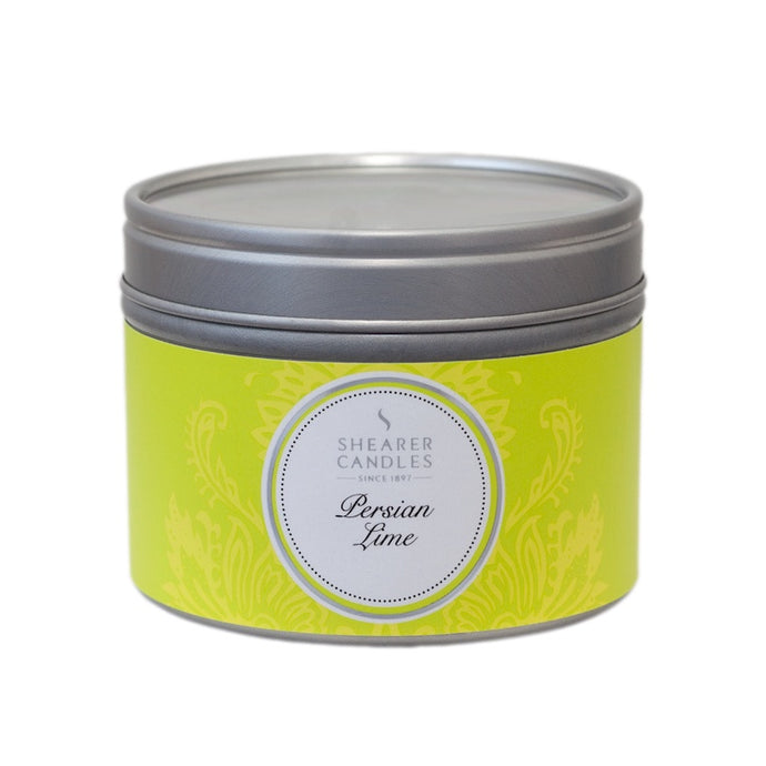 Shearer Persian Lime Small Travel Tin Candle