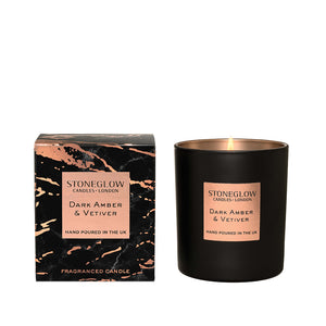 Luna - Dark Amber & Vetivert Candle