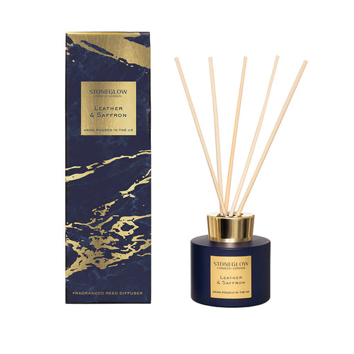 Luna - Leather & Saffron Diffuser 120ml