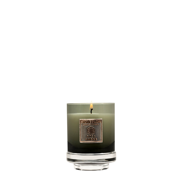SG-Metallique: Rose Ambre Boxed Candle