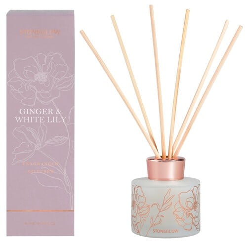 New Stoneglow Day Flower - Ginger & White Lily Diffuser