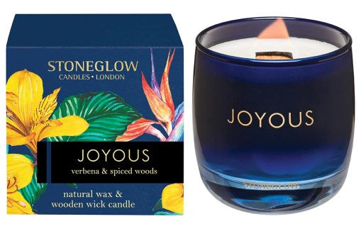SG - Infusion - Joyous: Verbena & Spiced Woods Candle