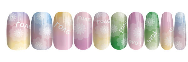 Jelly Kaleidoscope - nail wraps - a salon finish without a manicure