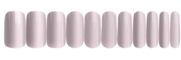Nude Pink - nail wraps - a salon finish without a manicure