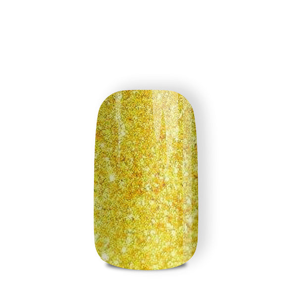 24k Gold - nail wraps - a salon finish without a manicure