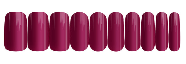 Sugar Plum - nail wraps - a salon finish without a manicure