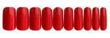 Love Red - nail wraps - a salon finish without a manicure