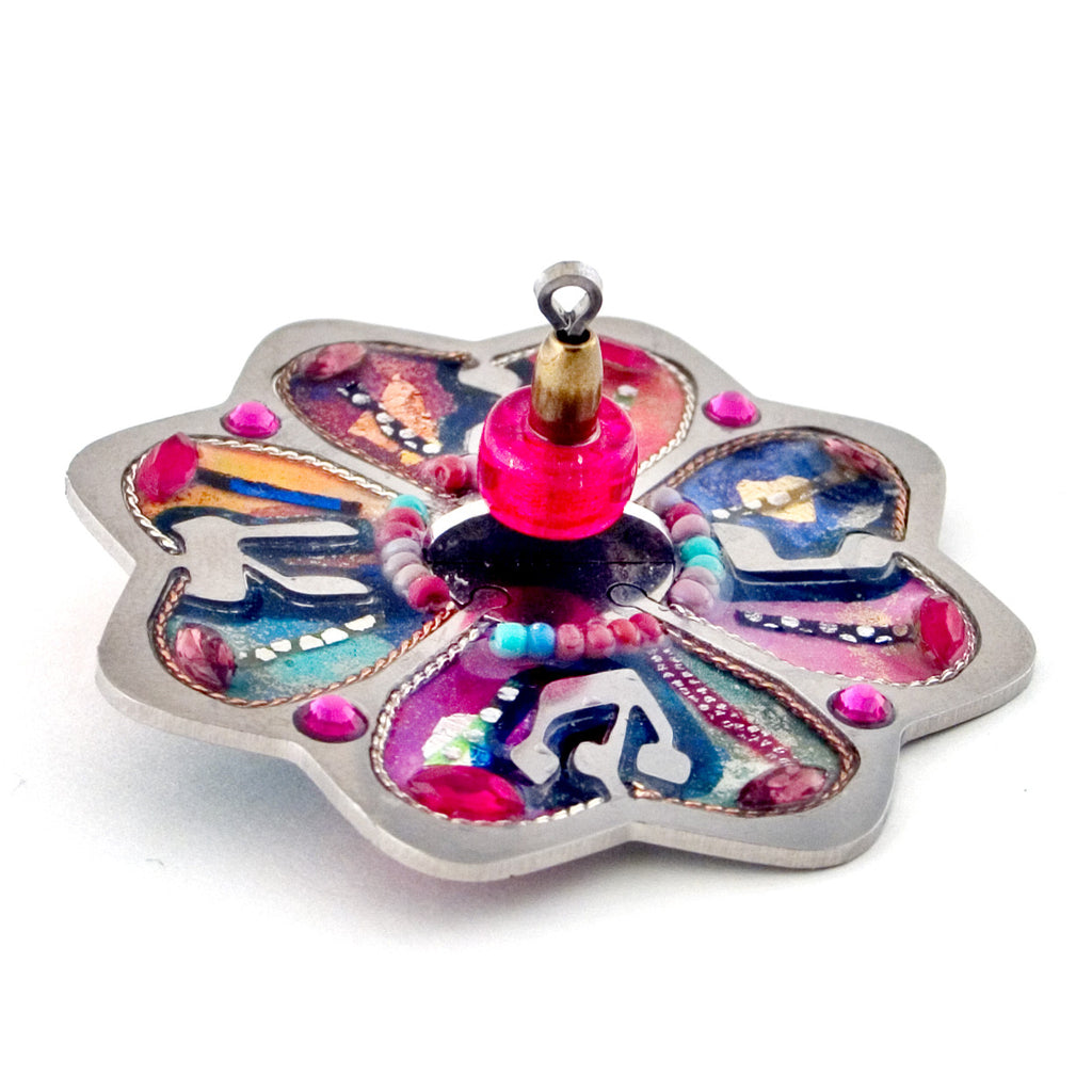 Seeka Judaic star dreidel