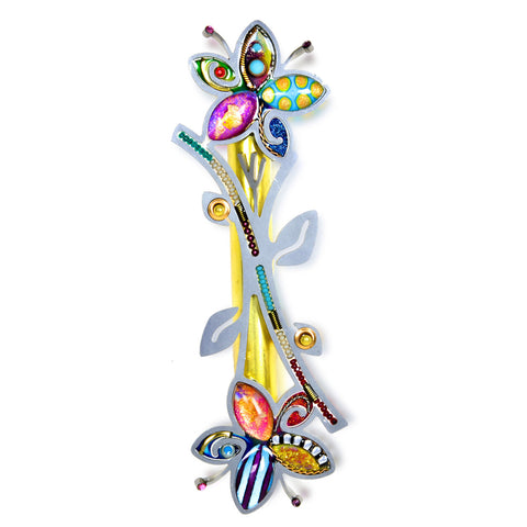 Seeka Flowers Mezuzah