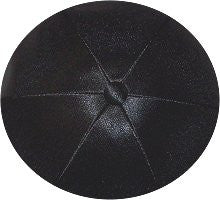 Deluxe Satin Yarmulkes-(priced per dozen)-Black