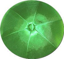 Deluxe Satin Yarmulkes-(priced per dozen)-Emerald Green