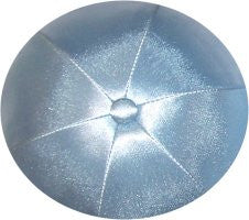 Deluxe Satin Yarmulkes-(priced per dozen)-Light Blue