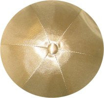 Deluxe Satin Yarmulkes-(priced per dozen)-Light Gold