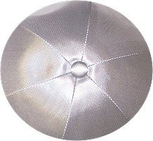Deluxe Satin Yarmulkes-(priced per dozen)-Light Grey