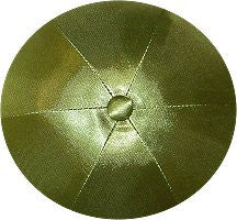 Deluxe Satin Yarmulkes-(priced per dozen)-Olive Green
