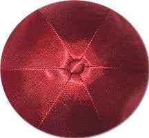 Deluxe Satin Yarmulkes-(priced per dozen)-Rust