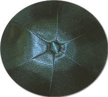 Deluxe Satin Yarmulkes-(priced per dozen)-Teal