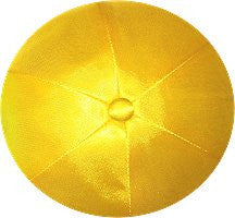 Deluxe Satin Yarmulkes-(priced per dozen)-Yellow
