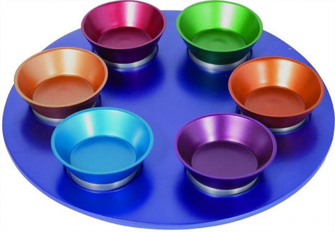 Emanuel Seder Plate-Colored Anodized Aluminum-Item#SPZ-2