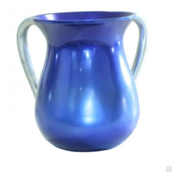 Emanuel Wash Cup-Blue Anodized Aluminum-Item#NYM-4