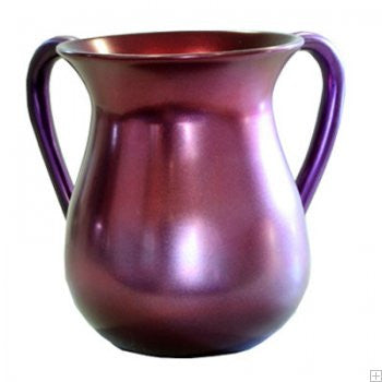 Emanuel Wash Cup-Burgundy Anodized Aluminum-Item#NYM-2