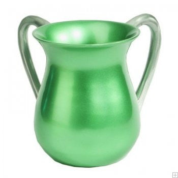 Emanuel Wash Cup-Green Anodized Aluminum-Item#NYM-7