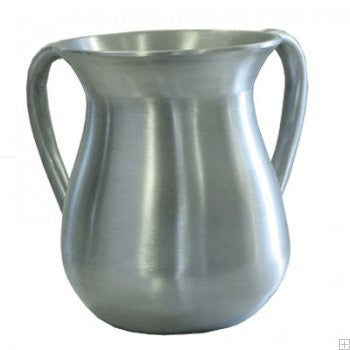 Emanuel Wash Cup-Silver Anodized Aluminum-Item#NYM-1