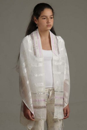 Eretz Women's Tallit Set-Item#T-129CC