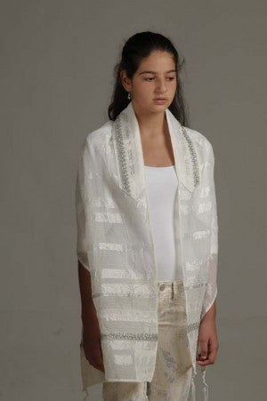 Eretz Women's Tallit Set-Item#T-129DD