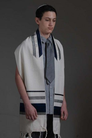Eretz Men's Tallit Set-Item#101C