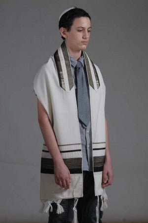 Eretz Men's Tallit Set-Item#T-1531