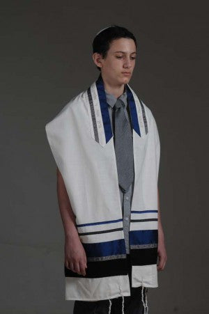 Eretz Men's Tallit Set-Item#T-1701A