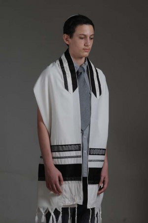 Eretz Men's Tallit Set-Item#T-1915