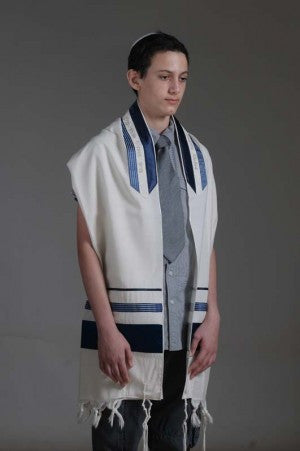 Eretz Men's Tallit Set-Item#T-603C