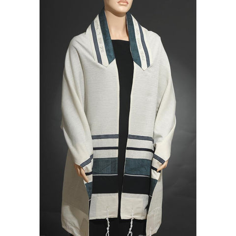 Eretz Men's Tallit Set-Item#1908