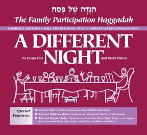 Haggadah-A Different Night-Compact Edition