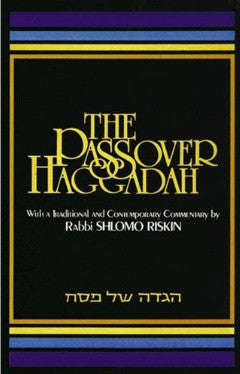 Haggadah-The Passover Haggadah-Rabbi Riskin