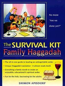 Haggadah-The Survival Kit Family Haggadah
