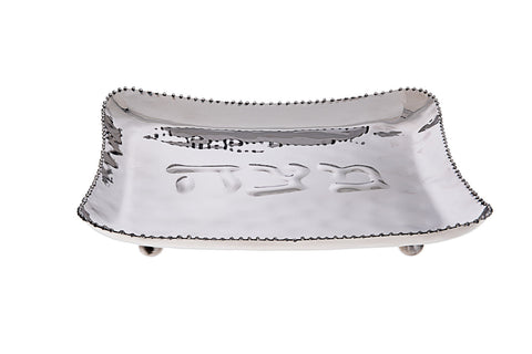 Classic Giftware Beaded Matzah Tray