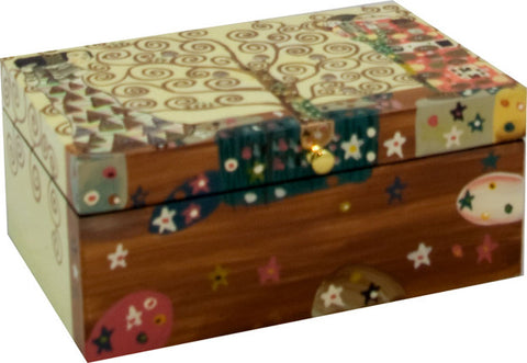 "Lacquer Box-""The Tree of Life"""