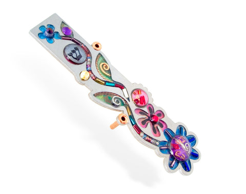 Seeka Flower Mezuzah