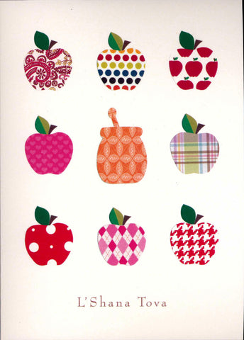Papercut Apples and Honeyjar