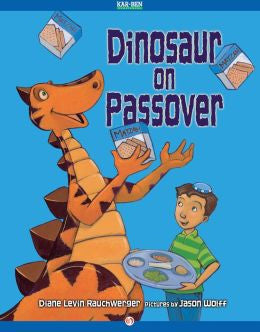 Passover Book-Dinosaur on Passover