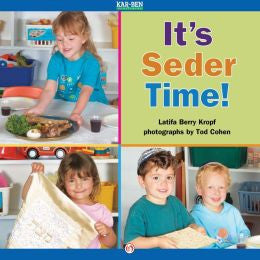 Passover Book-It's Seder Time