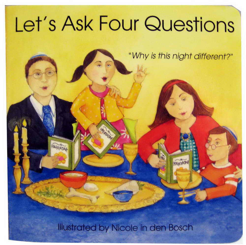 Passover Book-Let's Ask Four Questions (board book)