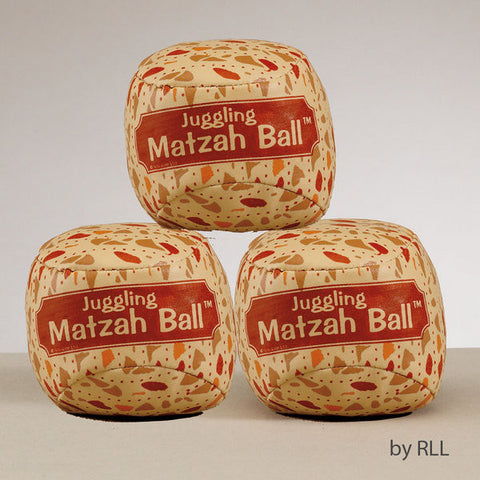 Passover Juggling Matzah Balls-Set of 3-Item#TYPP-BALL