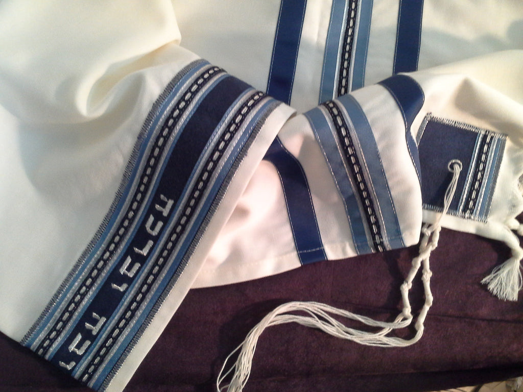 Precious Heirlooms Tallit Set-Staccato-Item#P206